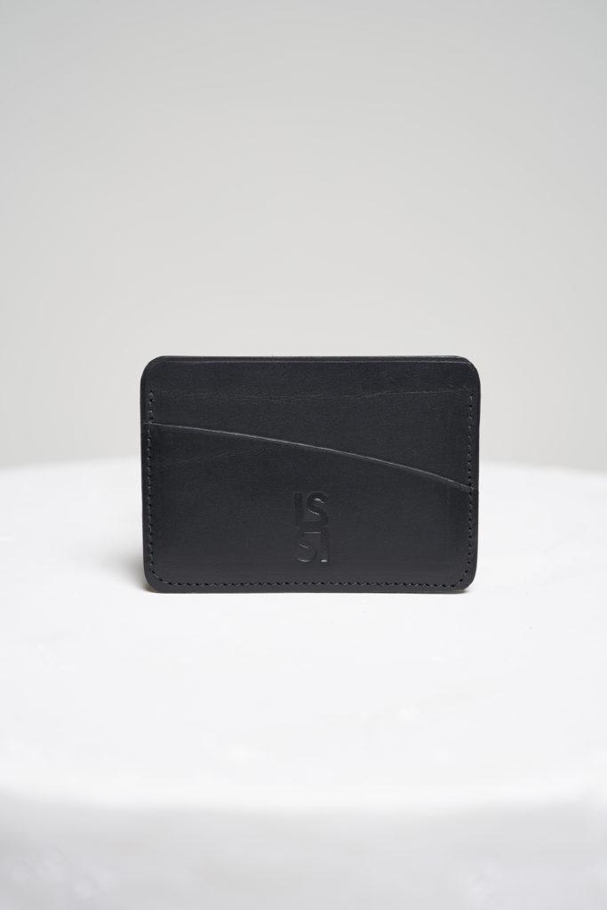 la singulière le singulier-porte-cartes-noir